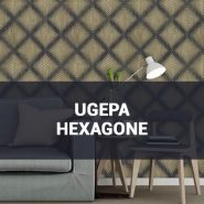 Обои Ugepa Hexagone фото