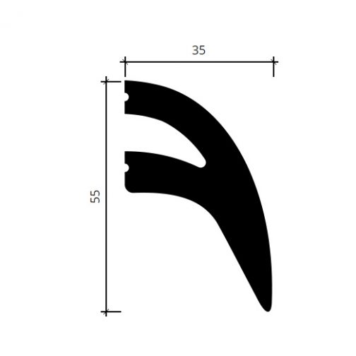 Многофункциональный профиль Европласт 6.51.710 фотография 7