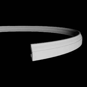 Плинтус напольный Европласт 1.53.111 Flex фото