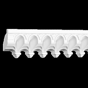 Потолочный плинтус Европласт 1.50.501 Flex фото