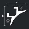 Многофункциональный профиль Европласт 6.50.230 фото (1)