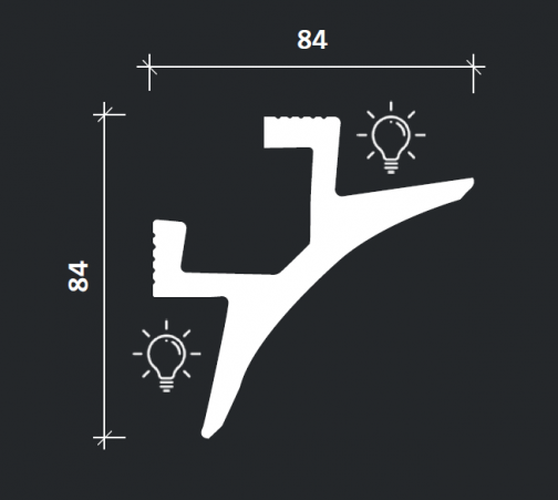 Многофункциональный профиль Европласт 6.50.230 фотография