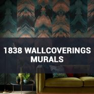 Обои 1838 Wallcoverings Murals фото