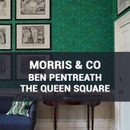 Обои Morris & Co Ben Pentreath The Queen Square каталог