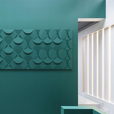 3D панели для стен фотография слайд