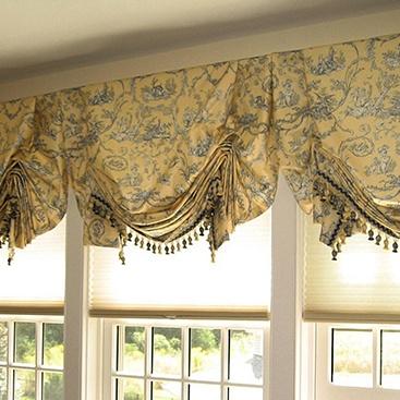 Английские шторы фотография слайд