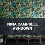 Обои Nina Campbell Ashdown фото