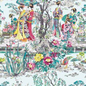 Обои Osborne & Little Enchanted Gardens W7024-02 фото
