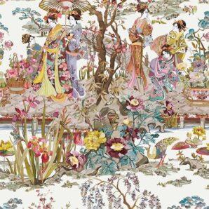 Обои Osborne & Little Enchanted Gardens W7024-03 фото