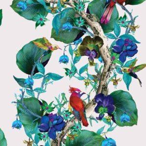 Обои Osborne & Little Enchanted Gardens W7026-01 фото